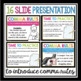 COMMAS: PRESENTATION, TASK CARD ACTIVITY, STUDENT HANDOUT, & POSTERS
