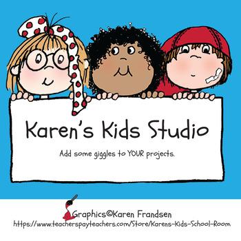 Single-User COMMERCIAL LICENSE (Karen's Kids Images)