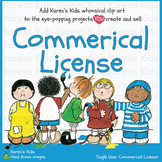 Single-User COMMERCIAL LICENSE (Karen's Kids Images)