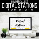 COMMERCIAL USE Digital Learning Stations Templates