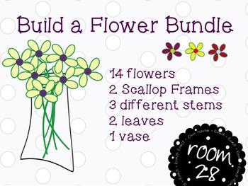 """COMMERCIAL Use """"Build A Flower"""" Bundle"""