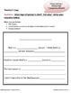 COMMON CORE 1st Grade Weekly Applications (Week 3 Mini-Lessons)