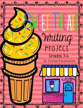 COMMON CORE ALIGNED Sweet Treats Narrative Writing