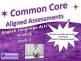 COMMON CORE Aligned Assessment Bank ELA-Reading, Grade 3