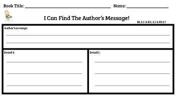 COMMON CORE - CHECK FOR UNDERSTANDING COMPREHENSION SHEETS