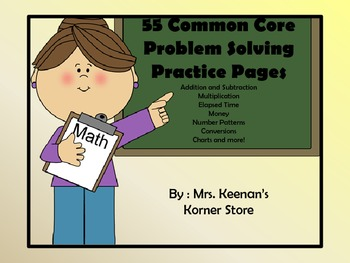 COMMON CORE Daily Problem Solving Practice