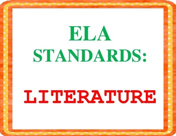 COMMON CORE ELA Posters (5th Grade) ~ Updated Version