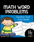 COMMON CORE: FIRST GRADE - Math word problems to 20