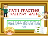COMMON CORE FRACTION GALLERY WALK- Equivalent, Compare, Add, Number Line