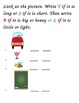 "Common Core Kindergarten Math Review: A Bundled Unit of ""L"