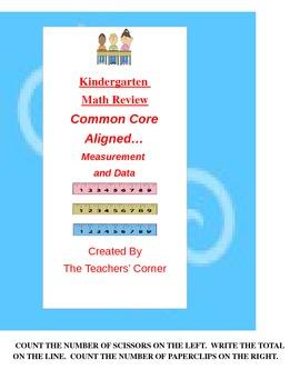 Common Core Kindergarten Math Review: Measurement and Data