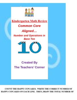 Common Core Kindergarten Math Review: Number and Operations in Base Ten