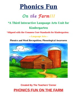 Common Core Language Arts--Unit 3: Kindergarten Phonics & Word Recognition