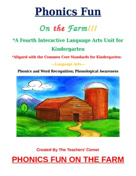 Common Core Language Arts--Unit 4: Kindergarten Phonics & Word Recognition