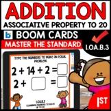 COMMON CORE MATH ASSESSMENT 1.OA.B.3 ASSOCIATIVE PROPERTY