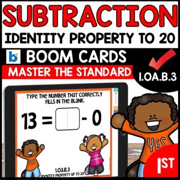 COMMON CORE MATH ASSESSMENT 1.OA.B.3 IDENTITY PROPERTY | BOOM CARDS