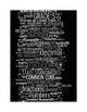 COMMON CORE MATHEMATICS - GRADE 5 - 3 WORDLE POSTERS - BLACK BACKGROUNDS