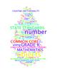 COMMON CORE MATHEMATICS - GRADE K - 3 WORDLE POSTERS - WHITE BACKGROUNDS