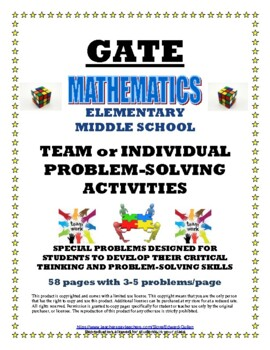 GATE TEAM PROBLEM SOLVING