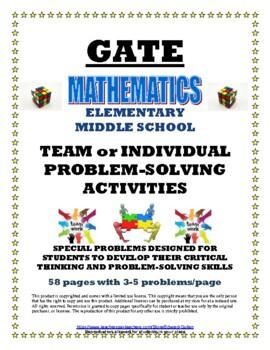 GATE TEAM PROBLEM SOLVING
