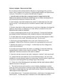 COMMON CORE / PARCC--Generic Short Story Analysis Questions, SUB