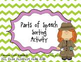 *COMMON CORE Parts of Speech Literacy Center Unit