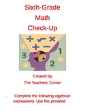 Common Core Sixth-Grade Math Review: Expressions and Equations