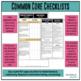 Common Core Documentation Checklists for ELA and Mathematics - Grades 6, 7, 8