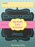 COMMON CORE MATH - STUDENT DATA NOTEBOOK - 5th GRADE