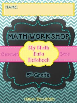 COMMON CORE MATH - STUDENT DATA NOTEBOOK - 5th GRADE