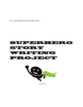 COMMON CORE SUPERHERO WRITING PROJECT:  LONG-TERM EDITING