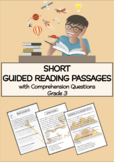 Short Guided Reading Passages with Activities (Grade 3)