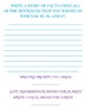 Common Core Writing: Let's Write!!! Informative Writing...