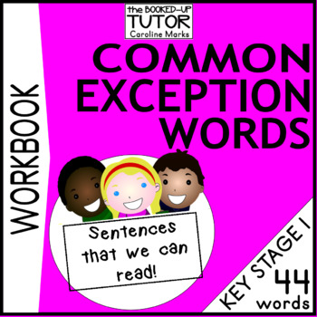 COMMON EXCEPTION WORDS Year 1 Booklet/ 11 Worksheets KS1