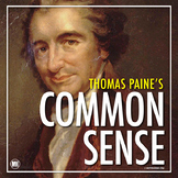 Thomas Paine Common Sense: Primary Source Activity   Dista