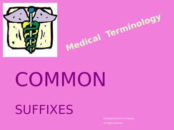 COMMON SUFFIXES