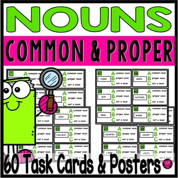 Common and Proper Nouns Activities