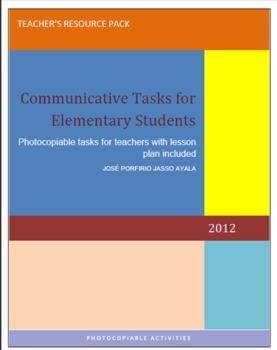 COMMUNICATIVE TASKS FOR ELEMENTARY STUDENTS