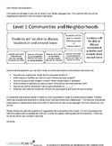 COMMUNITIES AND NEIGHBORHOODS UNIT COMMUNICATION (ITALIAN)