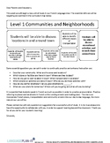COMMUNITIES AND NEIGHBORHOODS UNIT COMMUNICATION (FRENCH)