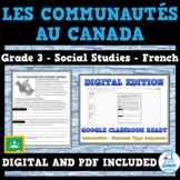 COMMUNITIES IN CANADA, 1780-1850 - Ontario Social Studies - FRENCH - Grade 3