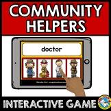 READING COMMUNITY HELPERS KINDERGARTEN (LABOR DAY ACTIVITI