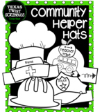 COMMUNITY HELPERS HATS...10 different helpers {Texas Twist