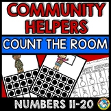 COMMUNITY HELPERS KINDERGARTEN ACTIVITIES (COMMUNITY HELPERS COUNT THE ROOM)