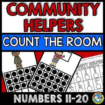 LABOR DAY ACTIVITY KINDERGARTEN (COMMUNITY HELPERS COUNT THE ROOM)