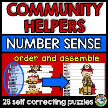 COMMUNITY HELPERS KINDERGARTEN MATH CENTER (LABOR DAY ACTIVITIES KINDERGARTEN)