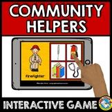 COMMUNITY HELPERS PRESCHOOL GAME (COMMUNITY HELPERS SORT OR MATCHING ACTIVITY)