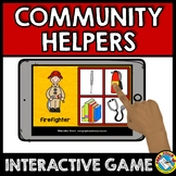 COMMUNITY HELPERS PRESCHOOL GAME (COMMUNITY HELPERS SORT O