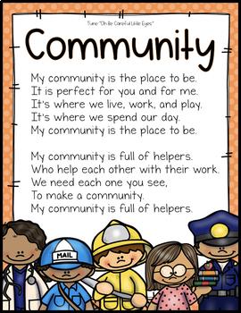 COMMUNITY HELPERS UNIT FOR PRESCHOOL, PRE-K AND KINDERGARTEN