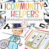 COMMUNITY HELPERS THEME ACTIVITIES FOR PRESCHOOL, PRE-K AND KINDERGARTEN